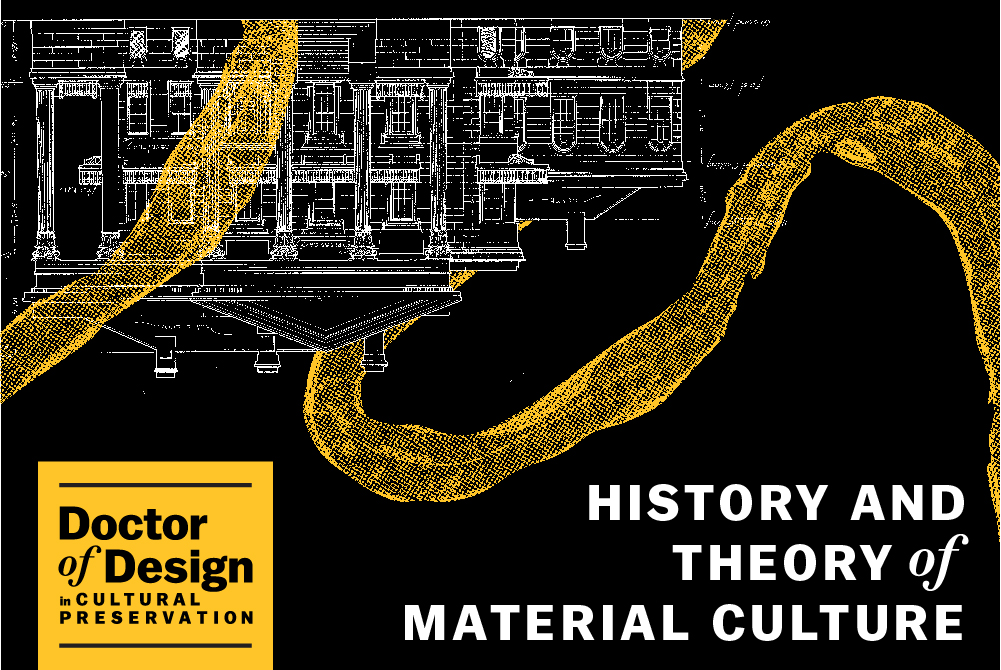 lsu doctor of design history and theory of material culture graphic