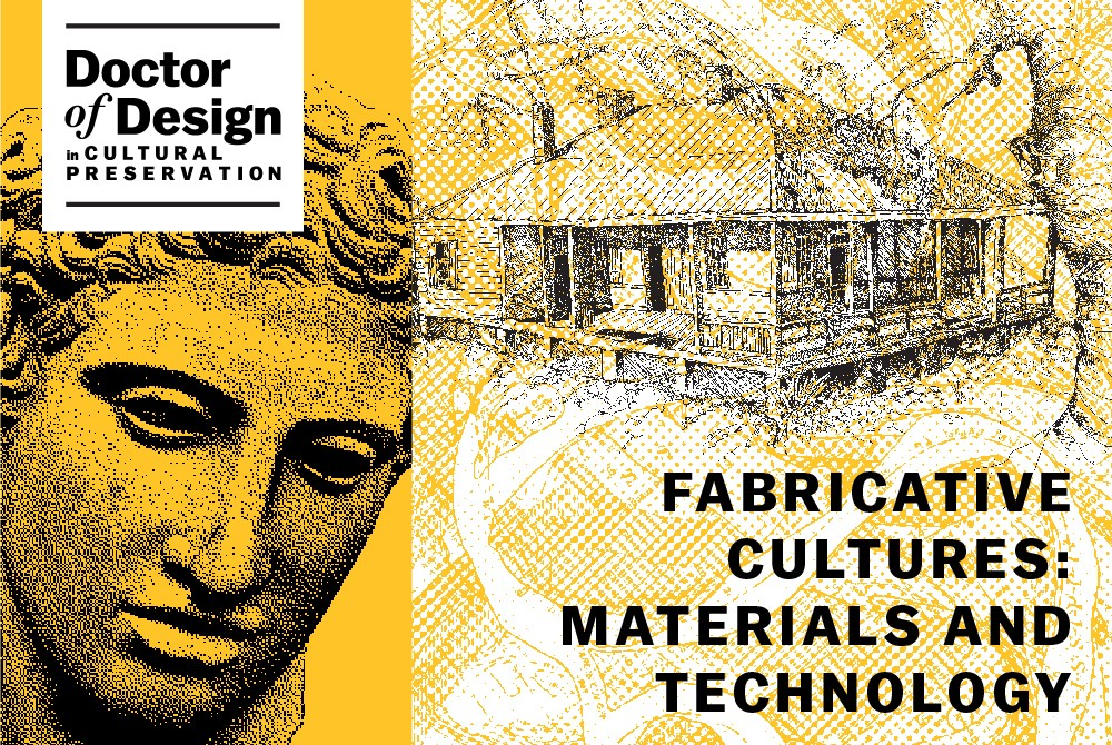 lsu doctor of design fabricative cultures: materials and technology graphic