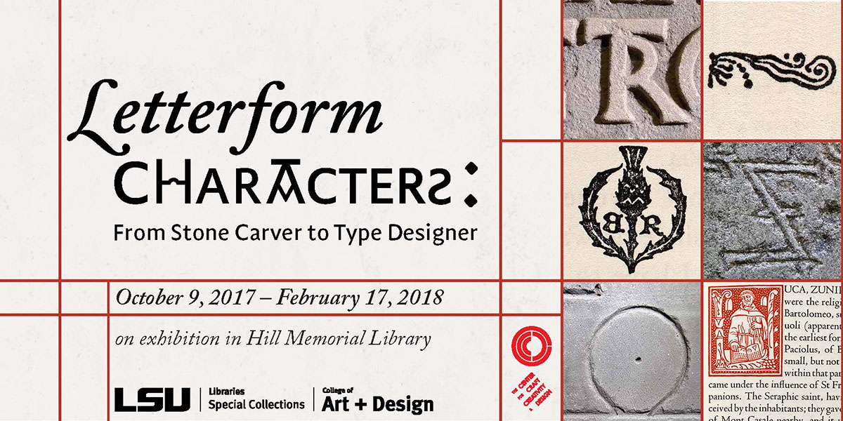 letterform characters