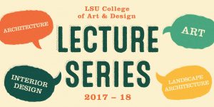lsu art and design lectures