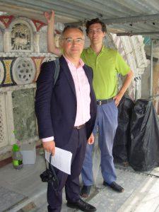 Professor Geymonat and Professor Spieth