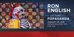 Ron English Lecture Jan. 31
