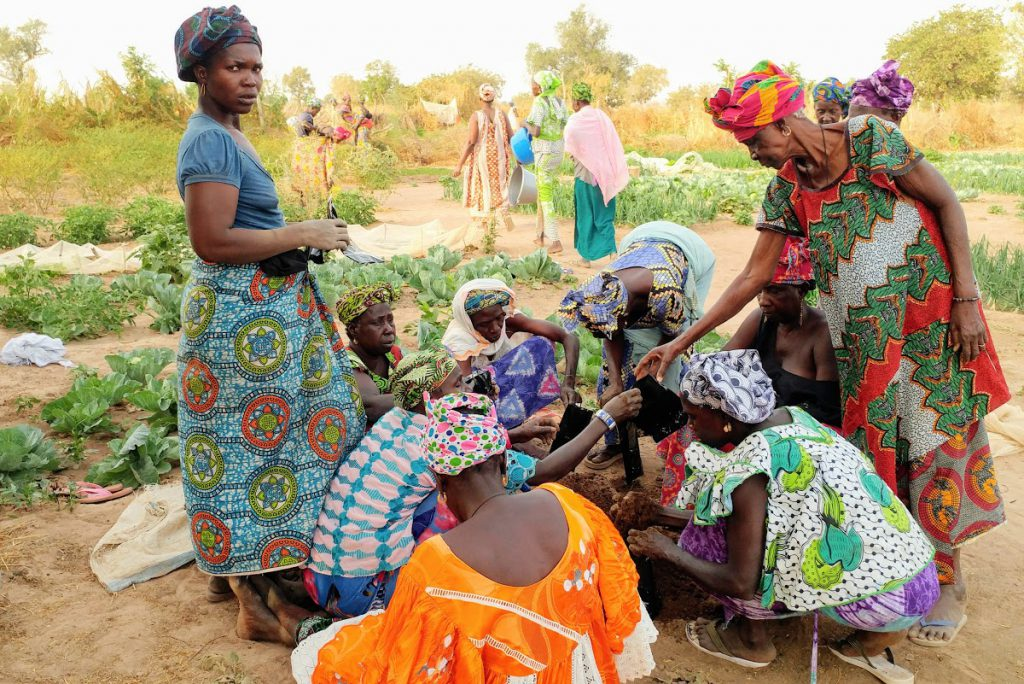 Alumnus Greg Dahlke works in Africa