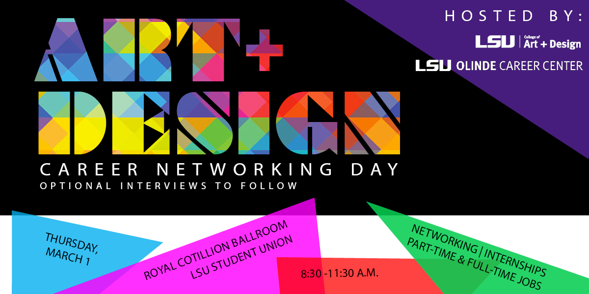 Art + Design Career Networking Day March 1