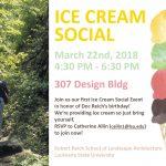 Ice Cream Social March 22