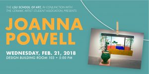 Joanna Powell Lecture 2/21