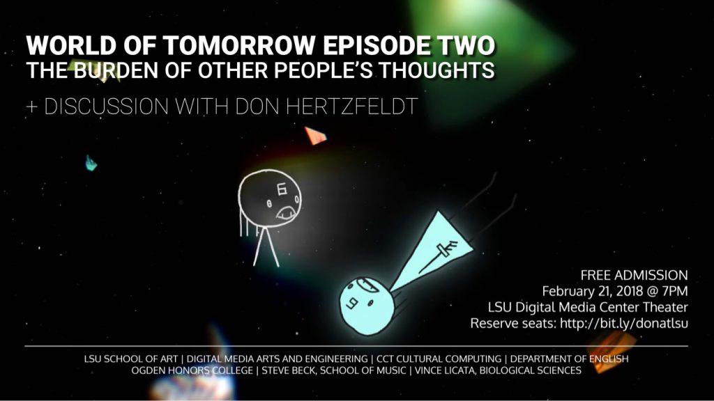 World Tomorrow Screening 2/21