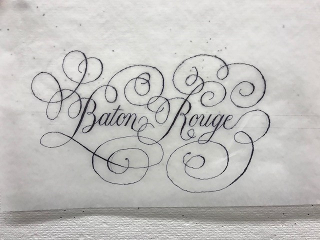 Hand Lettering Workshop with Peter Bain