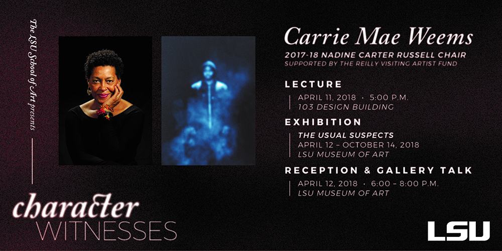 Carrie Weems poster