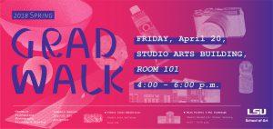 Grad Walk poster