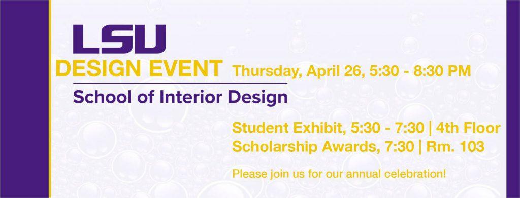 Design Event poster
