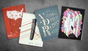 NPR Calendars, by Katie Burk