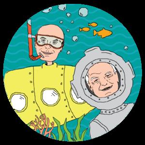 Wait Wait… Don't Tell Me! Stickers, by Katie Burk and Jennifer Mills