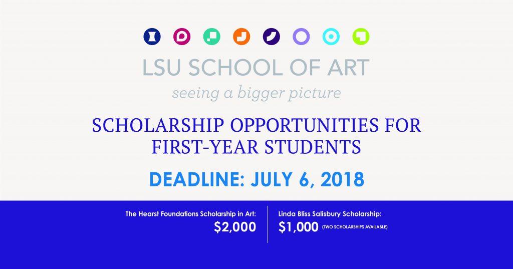 School of Art Freshman Scholarship