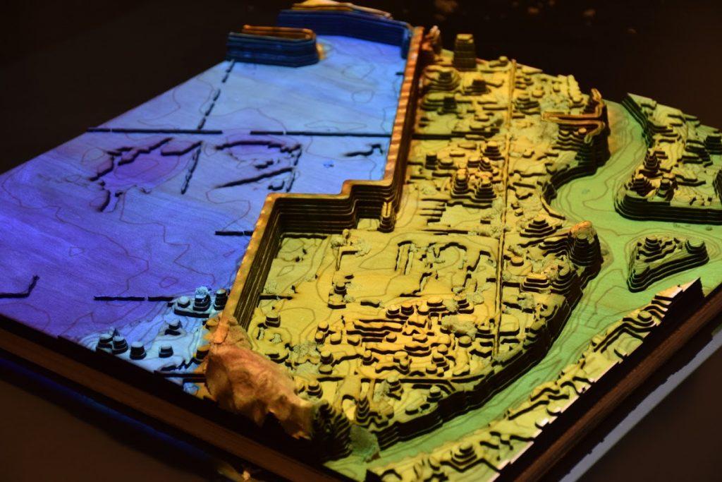 Tangible Landscape model