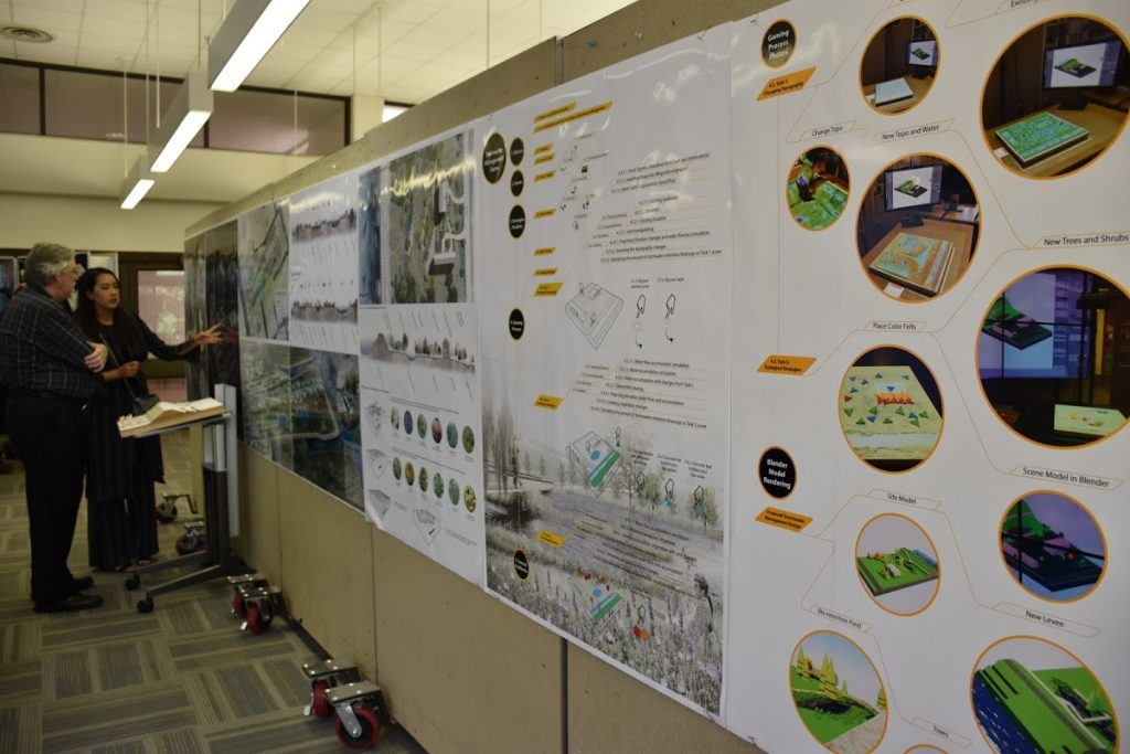 Project on stormwater management.