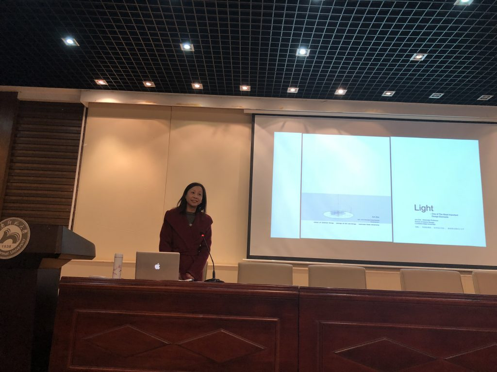Professor Jun Zou presents at Hunan University, Changsa, China