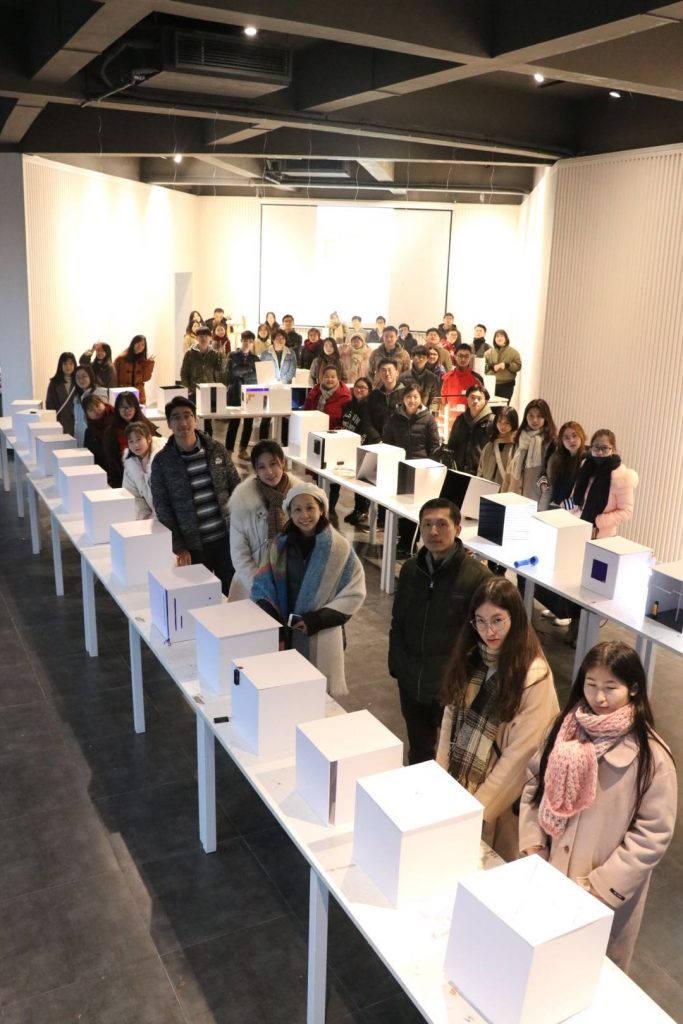 Hunan University students attended the workshop on lighting design