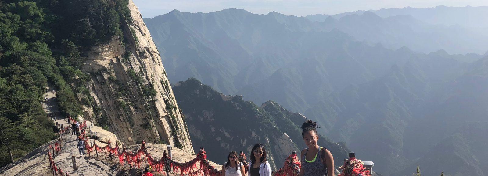 Hikinh Hua Mountain, China.