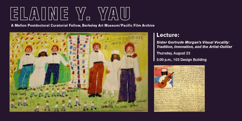 Elaine Yau Lecture poster