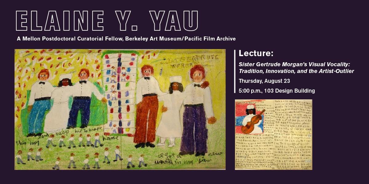 Elaine Yau Lecture Aug 23, 2018