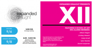 Expanded Draught Lecture poster