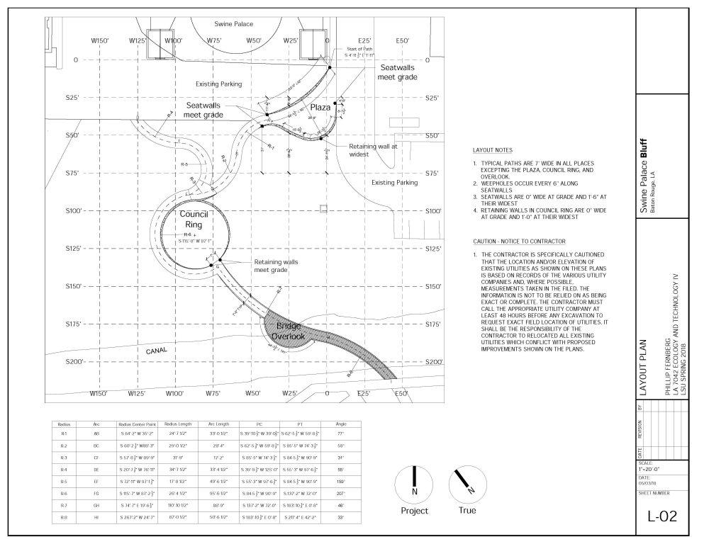 Swine palace redesign concept plan