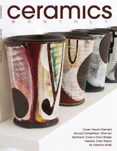 Ceramics Monthly cover