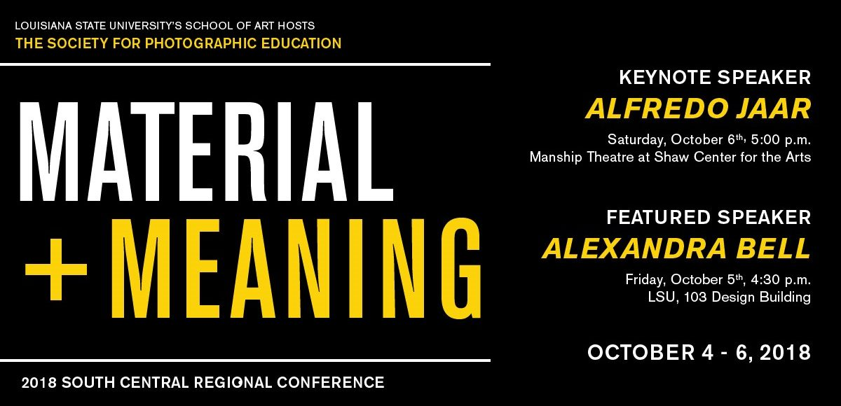 Material + Meaning Conference Oct 4-6