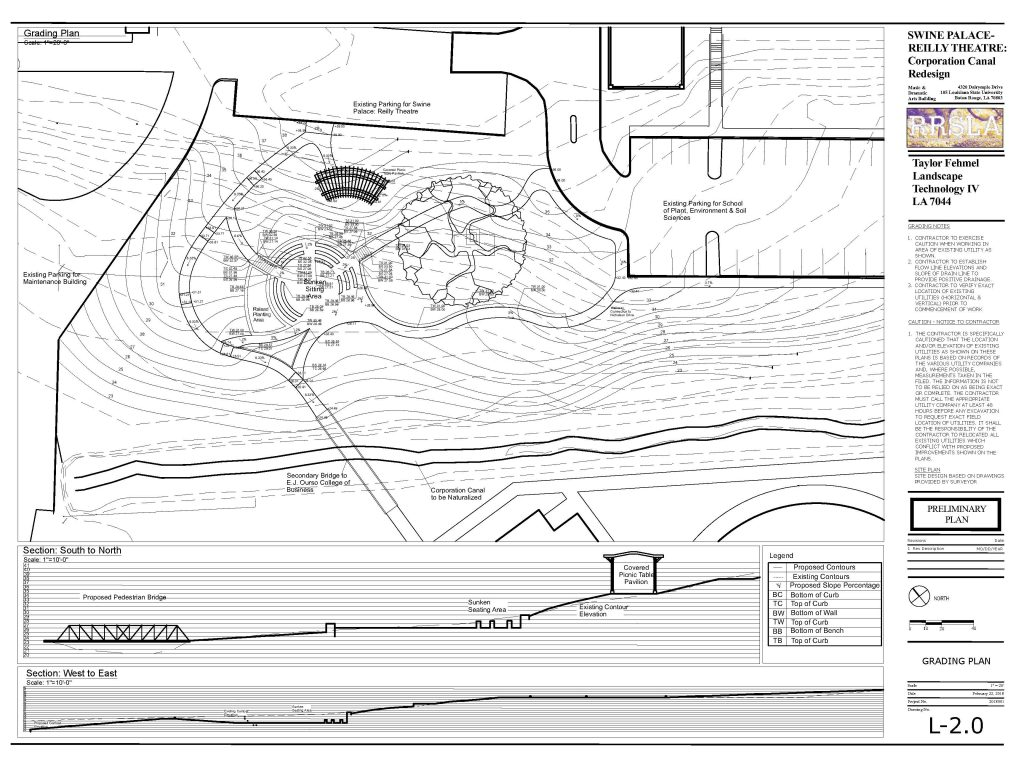 Gradient view of swine palace plan