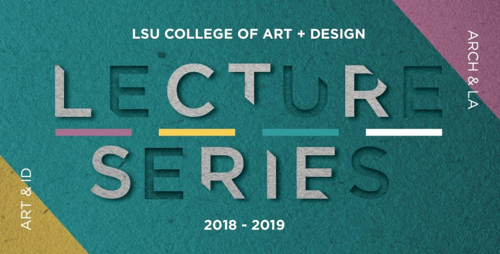 Fall 2018 Lecture Series Poster