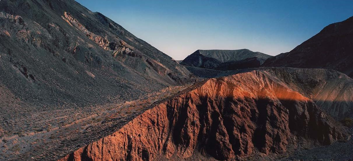 Image of barren desert canyon