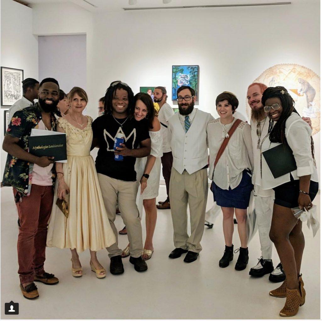 Exhibition artists