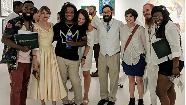 Group of Mythologies Louisianaises artists