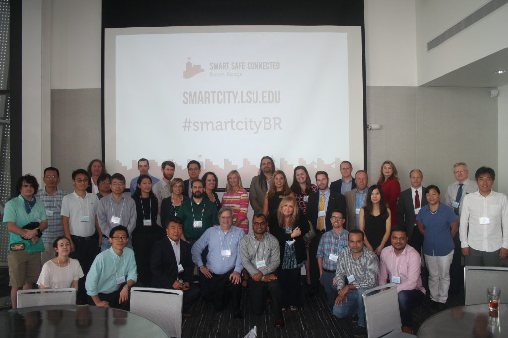 Group photo of Smart City BR collaborators