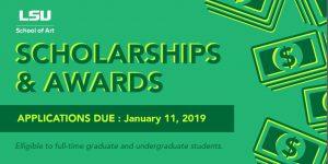 School of Art 2018 Scholarships