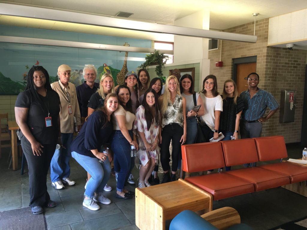 Interior design students visit Northlake Behavioral Health