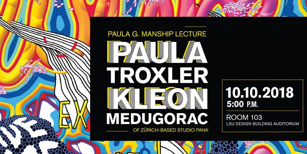 Paula Troxler Lecture Oct 10