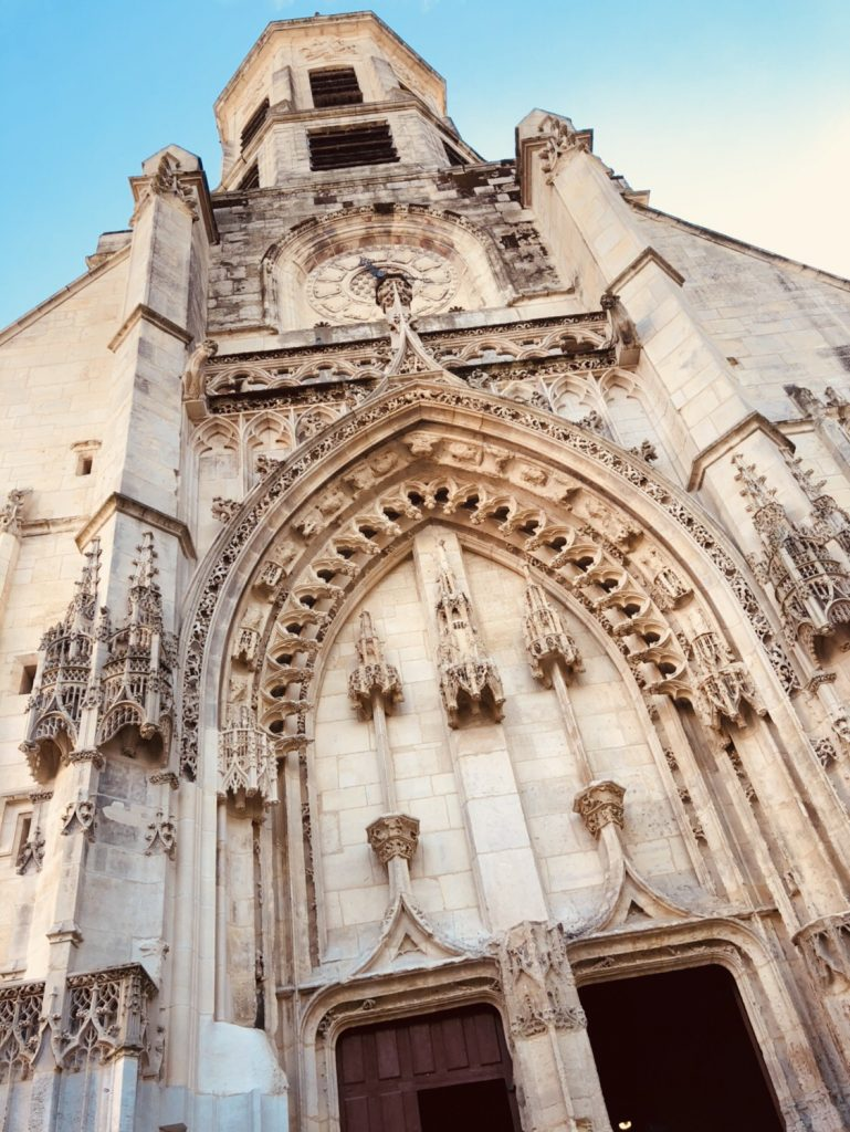 Gothic cathedral exterior