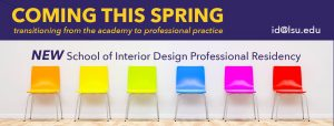School of Interior Design Professional Residency