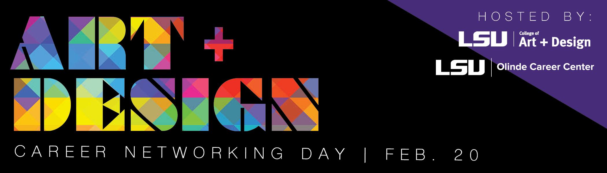 Art & Design Career Networking Day Feb. 20, 2019