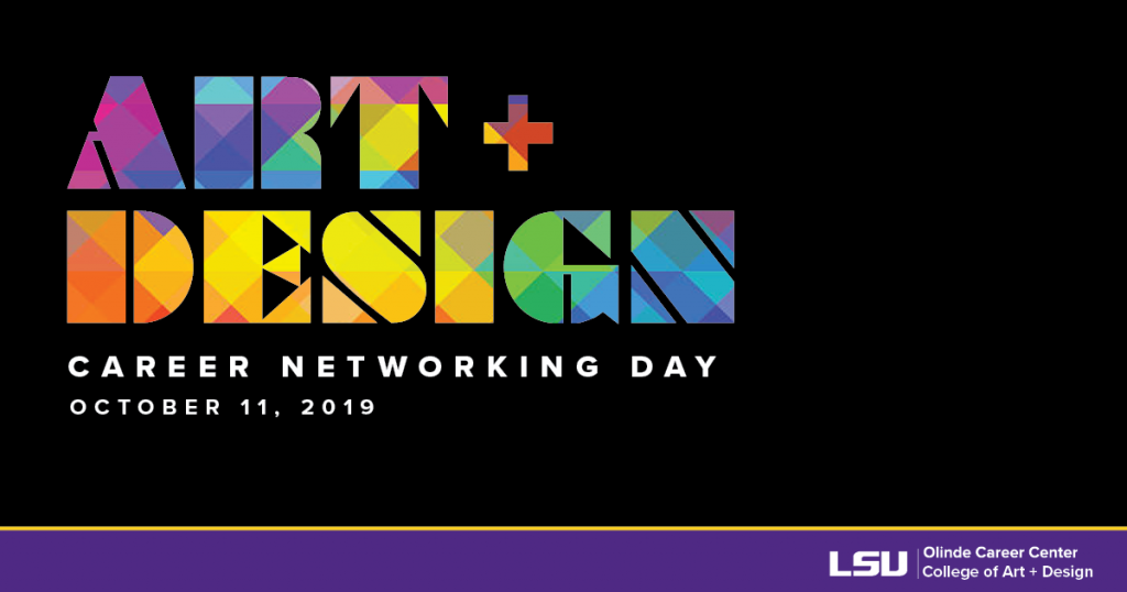 Art & Design Career Networking Day Oct. 11, 2019