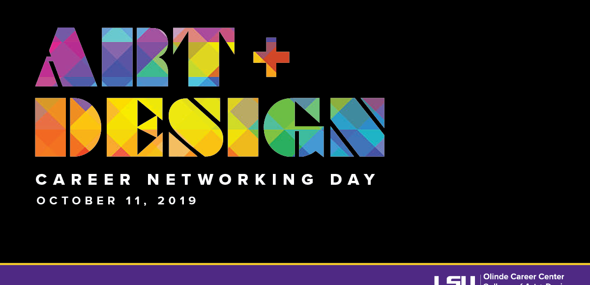 Art & Design Career Networking Day Oct. 11, 2019