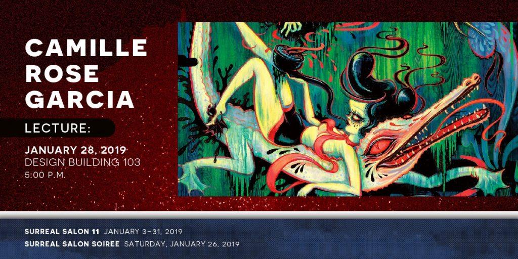 Camile Rose Garcia lecture Jan. 28, 2019