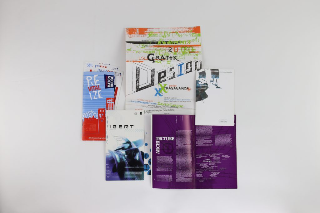 Graphic design materials