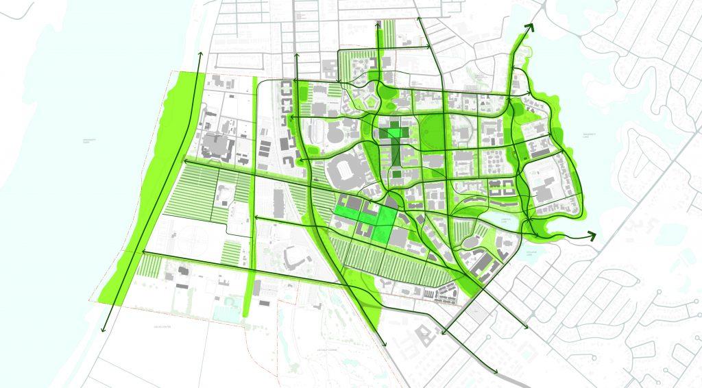 Lsu Campus Map 2016.College Of Art Design