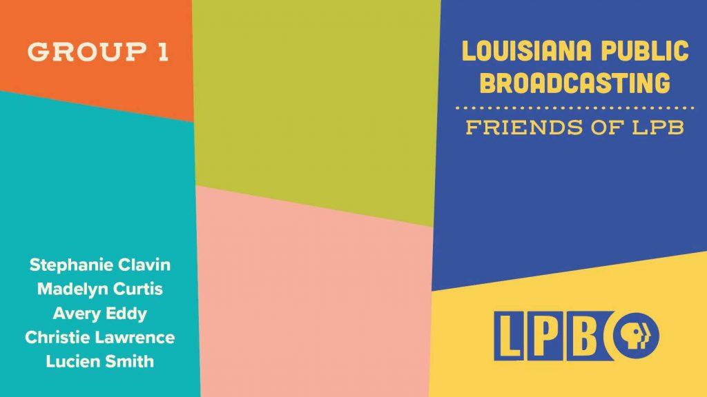 Louisiana Public Broadcasting design presentation cover