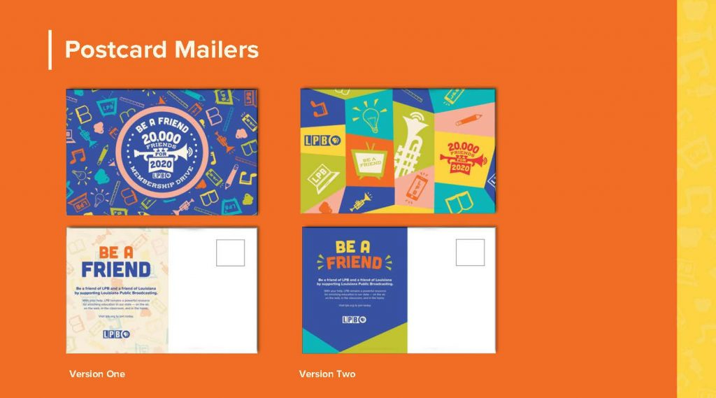 postcard designs with bright colors