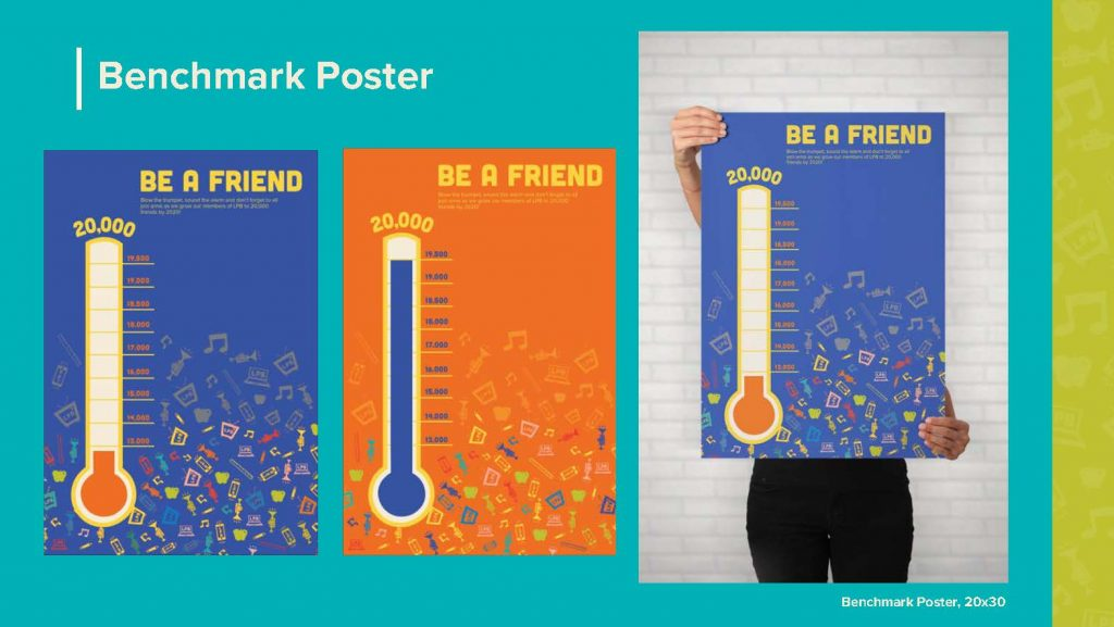 poster graphic designs for LPB