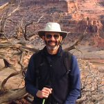 Bob Cox by Grand Canyon